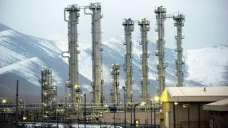 Iran stoppt Teil seines Atomprogramms