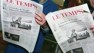 Wie geht es weiter mit «Le Temps»?