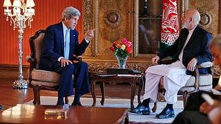 Kerry vermittelt in afghanischer Wahlkrise