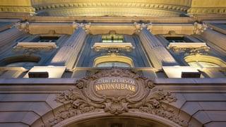 Banca naziunala mida reglas en favur dals chantuns
