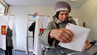 Wahlen in Russland: Opposition kämpft gegen mächtige Kremlpartei