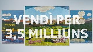 Giacometti porta 3,5 milliuns