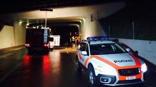 Gewitter und Weichenstörung: SBB-Strecke war unterbrochen