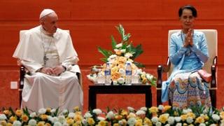 Das verbotene Wort? Papst erwähnt «Rohingya» nicht