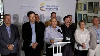Kolumbien: «Riesenschritt in Richtung Frieden»