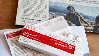 Jodtabletten für alle: Kantone Aargau und Solothurn skeptisch