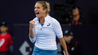 Bacsinszky mit erstem Saisonsieg auf der WTA-Tour
