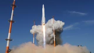 Südkorea schiesst Satellit ins All