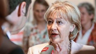Susanne Leutenegger Oberholzer – die Hyperaktive in Bundesbern (Artikel enthält Video)