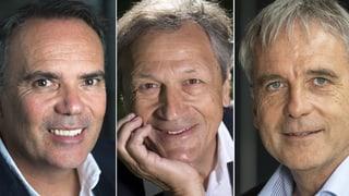 Diese drei wollen den Schweizer Fussballverband führen