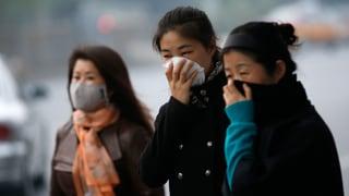Smog: Dicke Luft in Chinas Hauptstadt