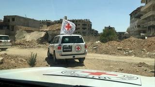 Hilfskonvoi erreicht syrische Rebellenhochburg
