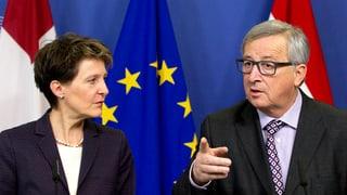 Sonderzug abgefahren? Die Schweiz und das Ende der Souveränität