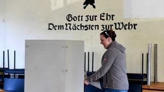 Gradmesser für Bundestagswahl