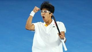 Djokovic von entfesseltem Chung entzaubert