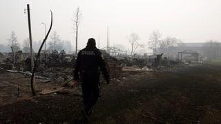 Waldbrände in Kanada weiten sich wieder aus