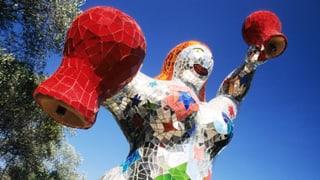 Im Garten von Niki de Saint-Phalle lebt die Unvollkommenheit
