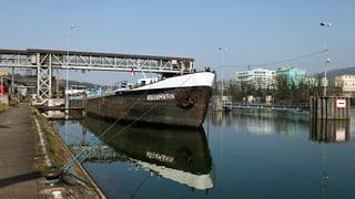 Rhein bei Basel soll tiefer werden