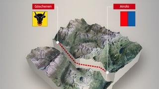 Der Gotthard-Strassentunnel