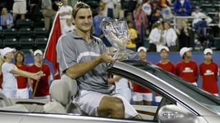 Als Newcomer Federer Houston verzückte