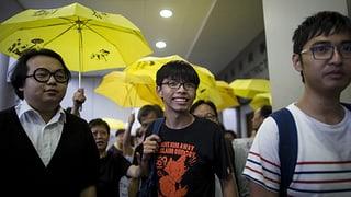 Hongkong: Wortführer der Regenschirm-Proteste schuldig gesprochen