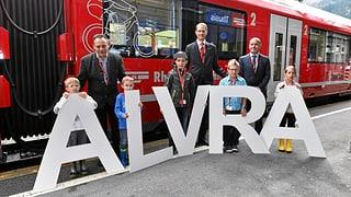 «Alvra» – il nov tren da la Viafier retica (Artitgel cuntegn galaria da maletgs)