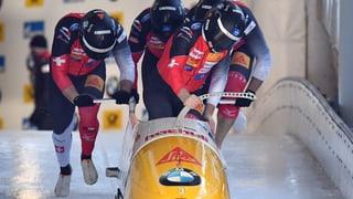 Wintersport: Doppelsieg im Viererbob für Deutschland