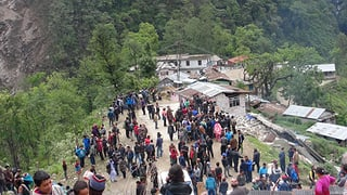 Video «Erdbeben am Mount Everest» abspielen