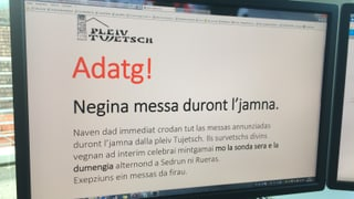 Plevon arrestà, Tujetsch inquietà