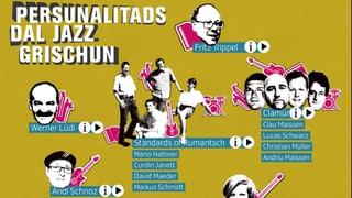 Furmaziuns ed interpretAs da jazz dal Grischun