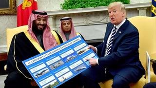 US-Senat blockiert Waffenexporte nach Saudi-Arabien
