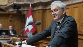 Caspar Baader tritt aus dem Nationalrat zurück