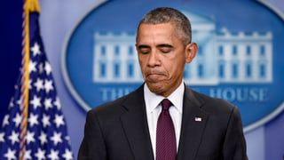 Obama: «Schiessereien sind zur Routine geworden»