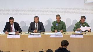 Armee zum Helikopterabsturz: Das Protokoll zum Nachlesen