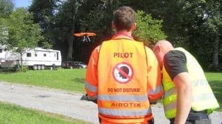 Ein fliegender Fotoapparat für die Stadtpolizei