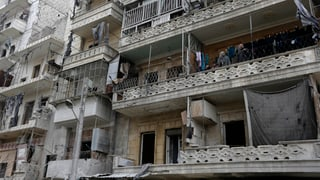 «Der Krieg ist nicht weg aus Aleppo»