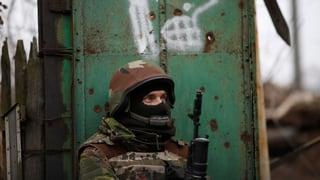 Schwerste Gefechte seit Beginn der Waffenruhe in der Ostukraine
