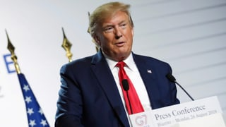 Trump signalisiert Bereitschaft für Treffen mit Rohani