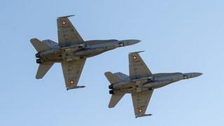 Volk soll über neue Kampfjets abstimmen