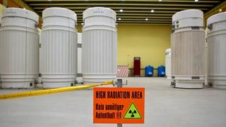 Tschertga per in deposit da rument radioactiv cuntinuescha