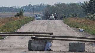 Panzerkolonne dringt von Russland in die Ukraine ein
