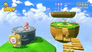 «Super Mario 3D World» spielt grossartig, auf sicher