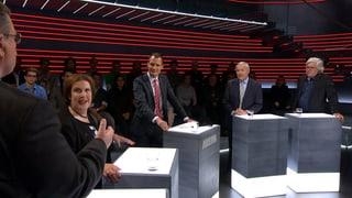 Wahl-«Arena»: Abtretende Politiker plaudern aus dem Nähkästchen (Artikel enthält Video)