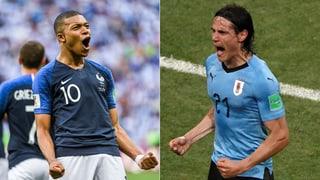 Uruguay als Angstgegner für «Les Bleus»