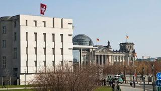 Die Schweiz muss sich in Berlin erklären