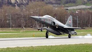 Innovationspark auf zwei ehemaligen Militärflugplätzen im Wallis