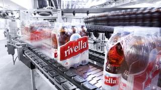 Rivella wächst leicht: Jetzt auch wieder in der Schweiz