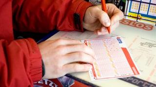 Glückspilz gab Lotto-Schein im Kanton Bern auf