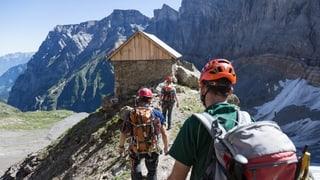 «Die Alpinwanderwege werden anspruchsvoller»