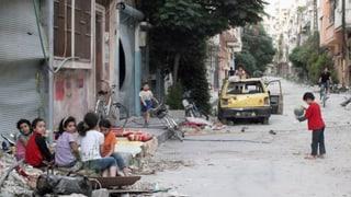 Unicef sorgt sich um Frauen und Kinder in Homs